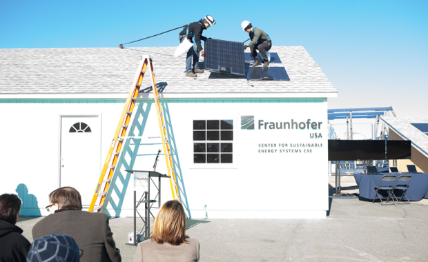 Install of the Fraunhofer CSE Plug and Play System