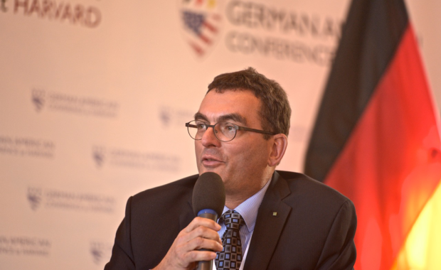Fraunhofer CSE Center Director Dr. Christian Hoepfner was a featured panelist at the German American Conference at Harvard.