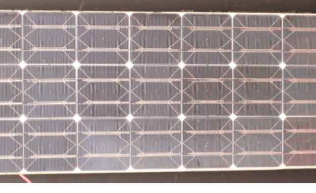 Veteran solar PV module gives MIT and Fraunhofer CSE researchers rare insight into durability of solar PV. Module shown by courtesy of MIT.