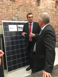 Fraunhofer CSE develops, tests, and demonstrates sustainable energy systems, including solar photovoltaic system prototypes.